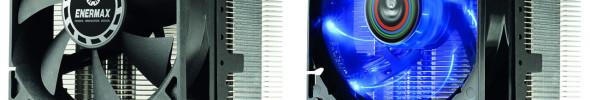 Neue Enermax CPU-Kühler mit leistungsstarken Lüftern