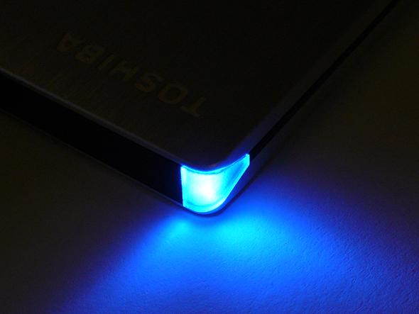Toshiba STOR.E Slim 500GB - LED 1