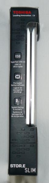 Toshiba STOR.E Slim 500GB - Verpackung 4