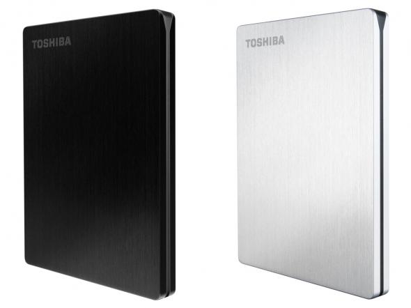 Toshiba STOR.E Slim 500GB - schwarz und silber