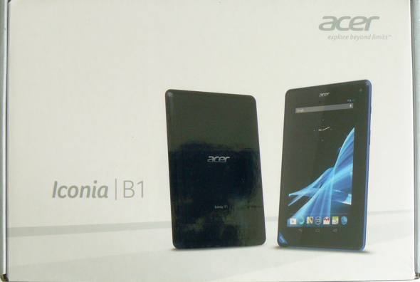 Acer Iconia Tab B1-A71 - Verpackung 1