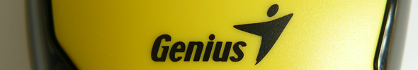 Genius DX-100 Stream Optical Mouse Yellow