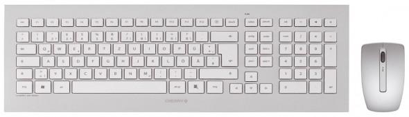 Cherry DW 8000 Desktop Set - Draufsicht Tastatur und Maus