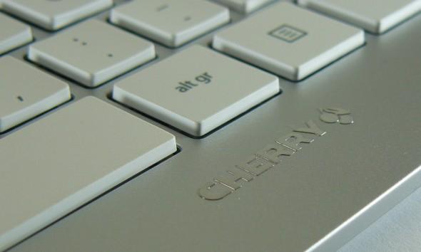 Cherry DW 8000 Desktop Set - Tastatur quer Front