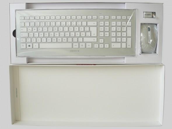 Cherry DW 8000 Desktop Set - Verpackung