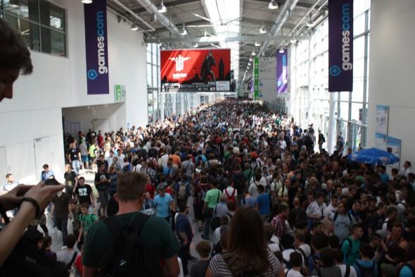 Gamescom 2013 - Besucherflut