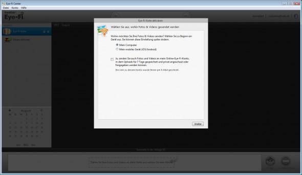 SanDisk Eye-Fi Wireless SDHC 4GB - Software 3