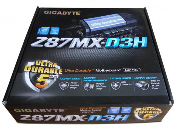 Gigabyte Z87MX-D3H - Verpackung