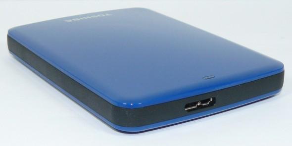 Toshiba STOR.E Canvio 1TByte USB3.0 - Gehäuse quer hinten