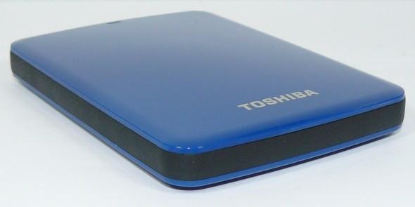 Toshiba STOR.E Canvio 1TByte USB3.0 - Gehäuse quer vorne