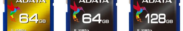 ADATA präsentiert neue Highspeed SD-Cards