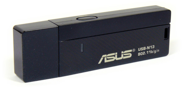 ASUS USB-N13 Wireless-N300 Adapter - Stick quer zu