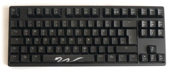 Ducky DK9008 Shine 3 Slim Gaming Keyboard - MX-Brown - Blue-LED - Bild 04