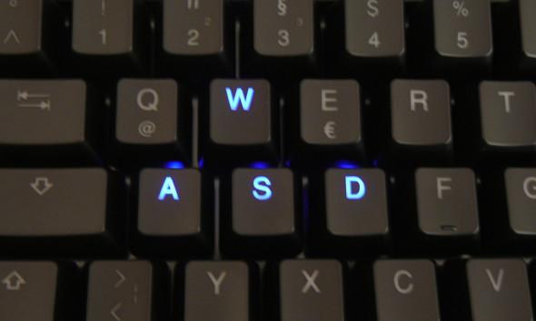 Ducky DK9008 Shine 3 Slim Gaming Keyboard - MX-Brown - Blue-LED - Bild 06