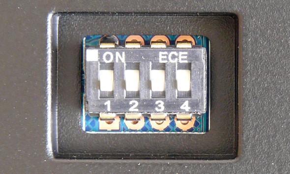 Ducky DK9008 Shine 3 Slim Gaming Keyboard - MX-Brown - Blue-LED - DIP-Switch