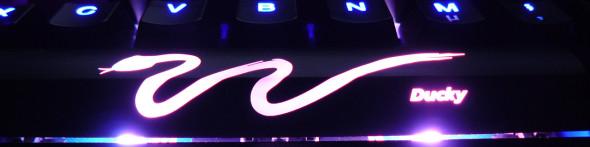 Ducky DK9008 Shine 3 Slim Gaming Keyboard - MX-Brown - Blue-LED -  LED1
