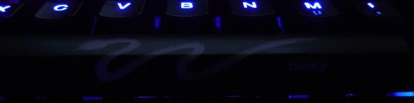 Ducky DK9008 Shine 3 Slim Gaming Keyboard - MX-Brown - Blue-LED -  LED2