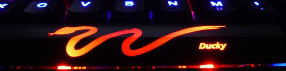 Ducky DK9008 Shine 3 Slim Gaming Keyboard - MX-Brown - Blue-LED -  LED3