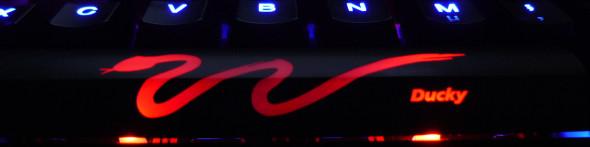 Ducky DK9008 Shine 3 Slim Gaming Keyboard - MX-Brown - Blue-LED -  LED4