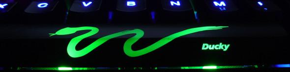 Ducky DK9008 Shine 3 Slim Gaming Keyboard - MX-Brown - Blue-LED -  LED5
