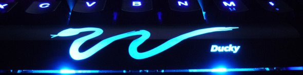Ducky DK9008 Shine 3 Slim Gaming Keyboard - MX-Brown - Blue-LED -  LED7