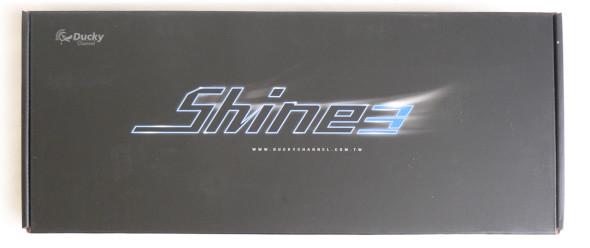 Ducky DK9008 Shine 3 Slim Gaming Keyboard - MX-Brown - Blue-LED - Verpackung1