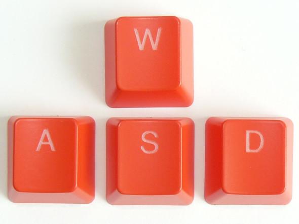 Ducky DK9008 Shine 3 Slim Gaming Keyboard - MX-Brown - Blue-LED - WASP-Set rot