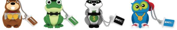 EMTEC bringt weitere USB-Sticks für Kinder