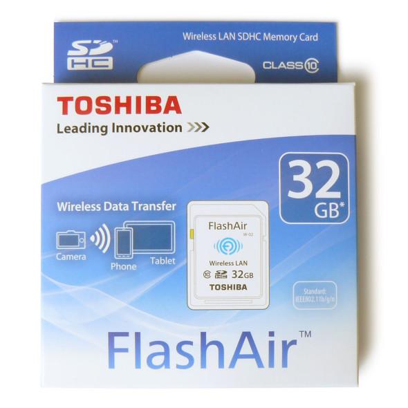 Toshiba FlashAir Wireless SDHC 32GB