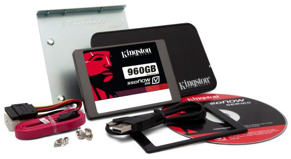 3DTester.de - Kingston SSDNow V310 - 960 GByte SSD - Upgrade Kit