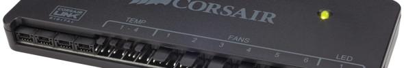 Corsair präsentiert Software gesteuerte Lüftersteuerung