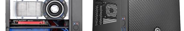 Thermaltake zeigt Mini-ITX-Cube mit guter Kühlung