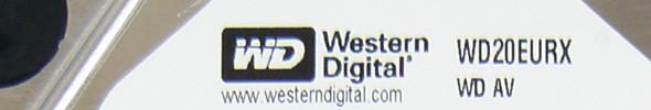 Western Digital AV-GP 2 TByte – WD20EURX