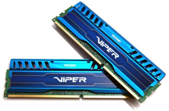 3DTester.de - Patriot Viper 3 Saphire Blue - 16GB Kit - DDR3 - 2400 MHz - Bild 1