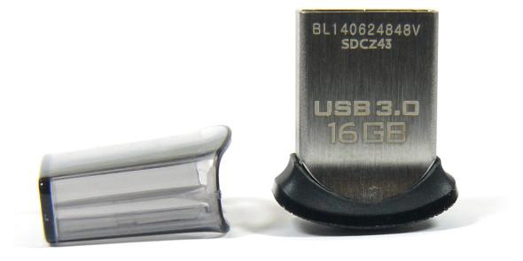 3DTester.de - SanDisk Ultra Fit 16GB USB3.0 - Bild 01