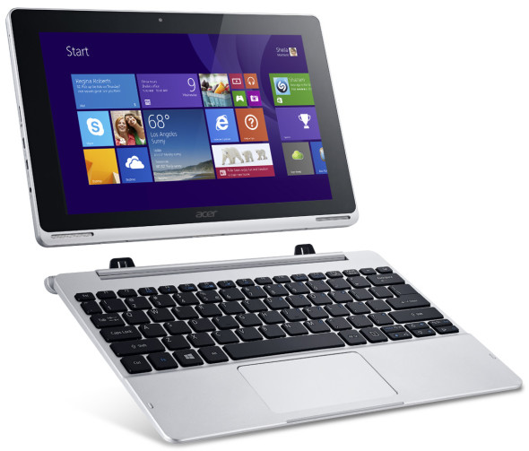 3DTester.de - Acer Aspire Switch10 Pro Tablet-Notebook - Convertible