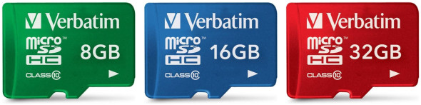 Verbatim Premium Tablet microSDHC Card 32GByte