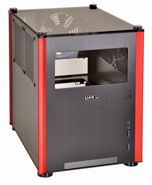 3DTester.de - PC-Q36 schwarz-rot champanger-gold 01