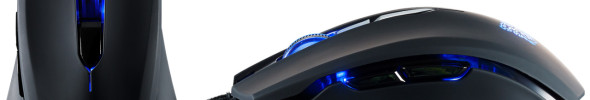 Tt eSports modifizierbare Gaming Maus Talon blu