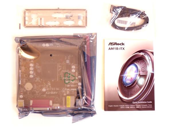 ASRock AM1B-ITX AM1-Mainboard ITX - Bild 01
