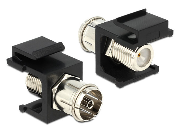 3DTester.de - DeLock Keystone Modul IEC F-Stecker