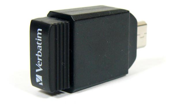 3DTester.de - Verbatim Store n Go Nano mit MicroUSB-Adapter - Bild 01