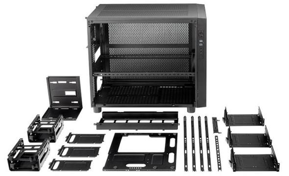 3DTester.de - Thermaltake Core X1 X2 X9 - Cube Case Vollmodular - Bild 2