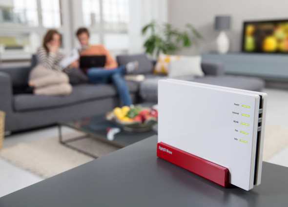 3DTester.de - AVM FRITZBox 4080 Lifestyle WLAN-Router - 802.11ac Wave2 MU-MIMO