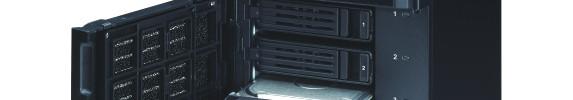 Buffalo TeraStation 5400DWR vorbestückt mit WD Red Festplatten.