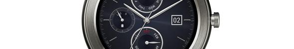 LG Armbanduhr mit dem Anschein von klassischem Aussehen