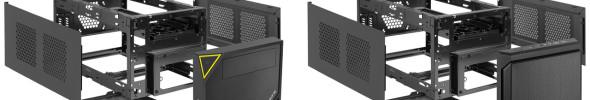 Sharkoon zeigt zwei neue ITX-Gehäuse