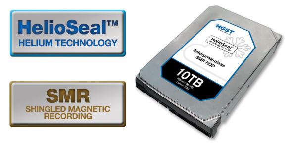 3DTester.de - HGST 10TByte Festplatte - HelioSeal - SMR
