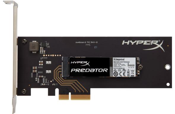 3DTester.de - Kingston HyperX Predator SSM SSC SSD - SHPM2280P2H - 480GB 240GB