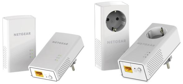 3DTester.de - Netgear Powerline 1200 Kit - Netgear Powerline 1200 Plus Kit